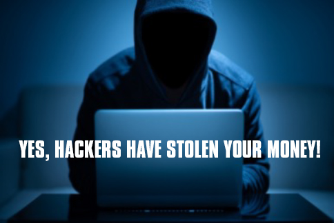 Hackers have scammed you! Now What?
